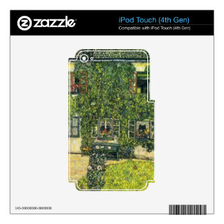 Gustav Klimt - The House of Guardaboschi iPod Touch 4G Decals