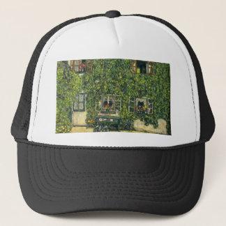 Gustav Klimt - The House of Guardaboschi Trucker Hat