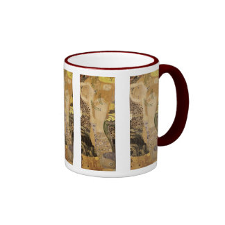 Gustav Klimt ~ The Hydra Ringer Coffee Mug