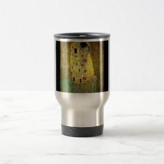 gustav-klimt-the-kiss 15 oz stainless steel travel mug