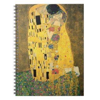 GUSTAV KLIMT - The kiss 1907 Notebook