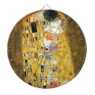 Gustav Klimt The Kiss Art Nouveau Dart Boards