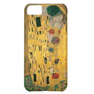 Gustav Klimt The Kiss Art Nouveau Jugendstil Gold Cover For iPhone 5C