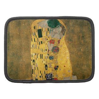 Gustav Klimt The Kiss Art Nouveau Jugendstil Gold Planner