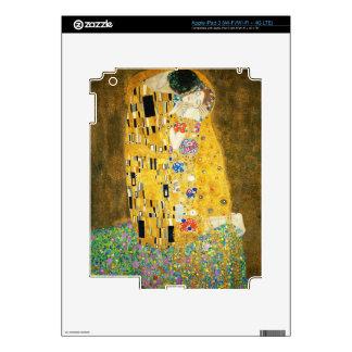 Gustav Klimt The Kiss Art Nouveau iPad 3 Skins