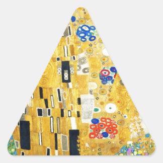 Gustav Klimt The Kiss Art Nouveau Stickers