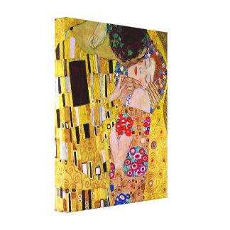 Gustav Klimt - The Kiss Gallery Wrap Canvas