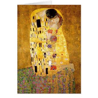 Gustav Klimt The Kiss Cards