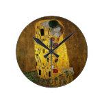 Gustav Klimt The Kiss Clock