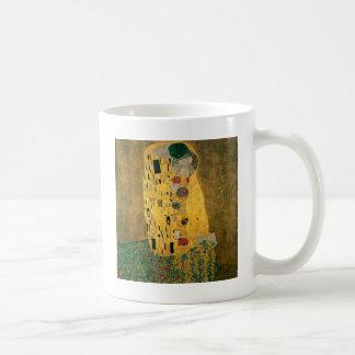 Gustav Klimt // The Kiss // Der Kuss Basic White Mug