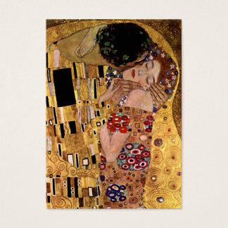 Gustav Klimt: The Kiss (Detail) Business Card