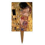 Gustav Klimt: The Kiss (Detail) Cake Picks