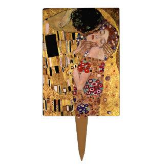 Gustav Klimt The Kiss Detail Cake Picks