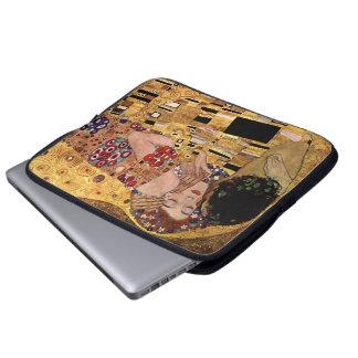 Gustav Klimt: The Kiss (Detail) Computer Sleeves