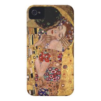 Gustav Klimt: The Kiss (Detail) iPhone 4 Cover