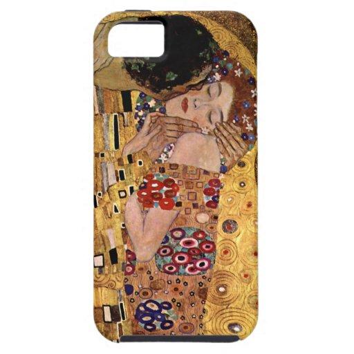 Gustav Klimt: The Kiss (Detail) iPhone 5 Cover