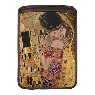 Gustav Klimt: The Kiss (Detail) MacBook Sleeve
