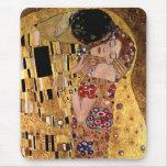 Gustav Klimt: The Kiss (Detail) Mouse Pad
