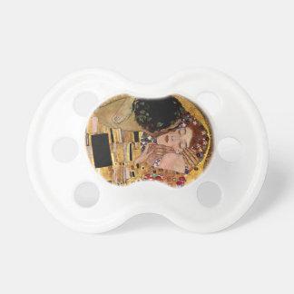 Gustav Klimt: The Kiss (Detail) Pacifier