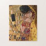 Gustav Klimt: The Kiss (Detail) Puzzle
