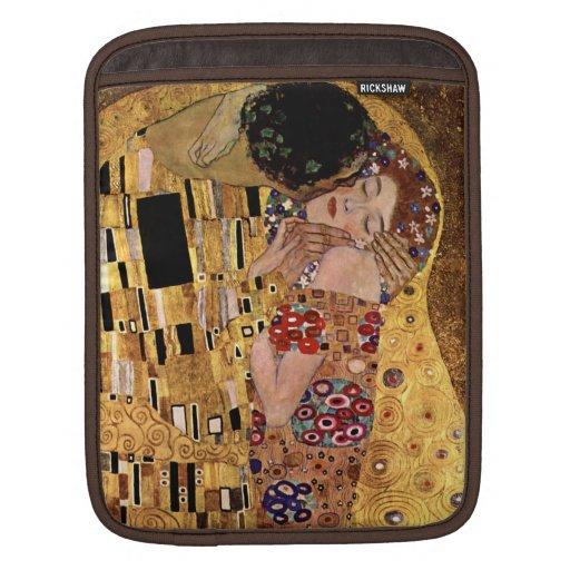 Gustav Klimt: The Kiss (Detail) Sleeve For iPads