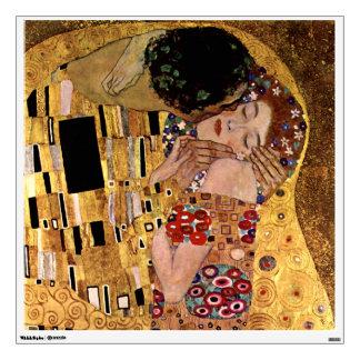 Gustav Klimt: The Kiss (Detail) Wall Sticker