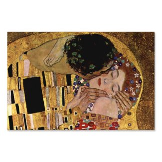 Gustav Klimt: The Kiss