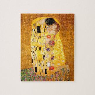 """Gustav Klimt """"The Kiss"""" Jigsaw Puzzle"""
