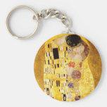 Gustav Klimt The Kiss Key Chain