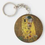 Gustav Klimt The Kiss Keychain
