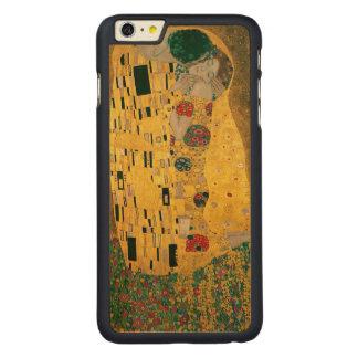 Gustav Klimt The Kiss (Lovers) GalleryHD Carved® Maple iPhone 6 Plus Slim Case