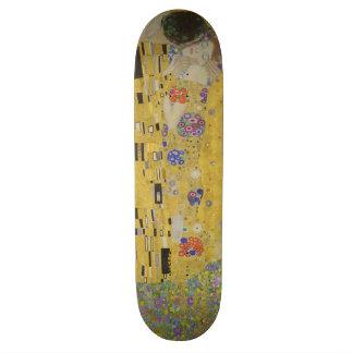 Gustav Klimt The Kiss (Lovers) GalleryHD Vintage Skateboard Deck