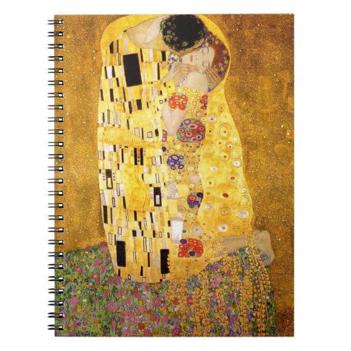 Gustav Klimt The Kiss Notebook