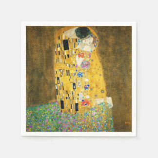 Gustav Klimt The Kiss Standard Cocktail Napkin