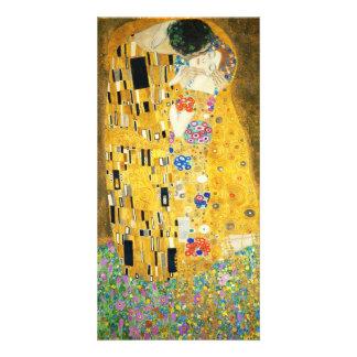 Gustav Klimt The Kiss Photo Card