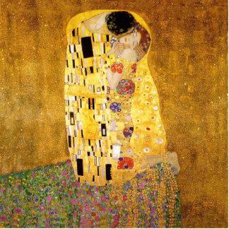 Gustav Klimt The Kiss Standing Photo Sculpture