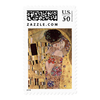 Gustav Klimt ~ the Kiss Postage