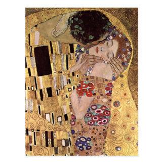 Gustav Klimt ~ the Kiss Postcard