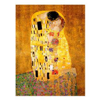 "Gustav Klimt ""The Kiss"" Postcard"