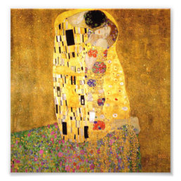 Gustav Klimt The Kiss Print