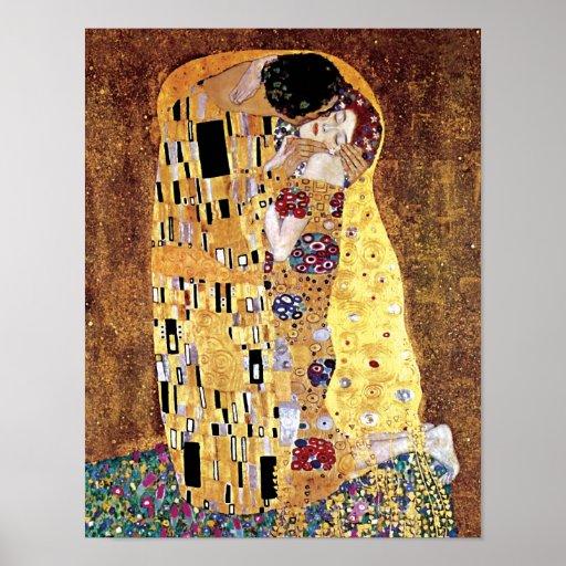 Gustav Klimt - The Kiss Print