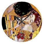 Gustav Klimt - The Kiss Round Wallclock