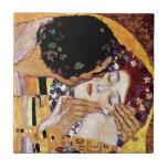 Gustav Klimt - The Kiss Tiles