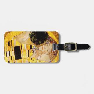 Gustav Klimt The Kiss Travel Bag Tags