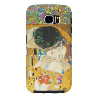 Gustav Klimt The Kiss Vintage Art Nouveau Painting Samsung Galaxy S6 Cases