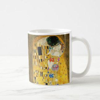 Gustav Klimt The Kiss Vintage Art Nouveau Painting Coffee Mug