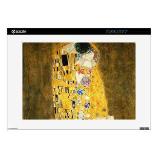 Gustav Klimt The Kiss Vintage Art Nouveau Painting Decal For Laptop
