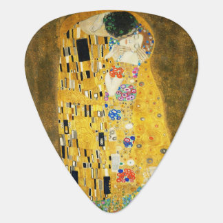 Gustav Klimt The Kiss Vintage Art Nouveau Painting Guitar Pick