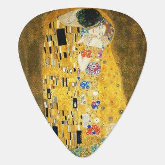 Gustav Klimt The Kiss Vintage Art Nouveau Painting Guitar Pick