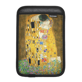 Gustav Klimt The Kiss Vintage Art Nouveau Painting iPad Mini Sleeves